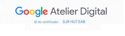 certificado atelier digital google